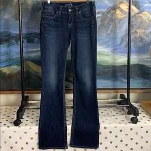 Silver stretch suki mid slim boot jeans w29/l33